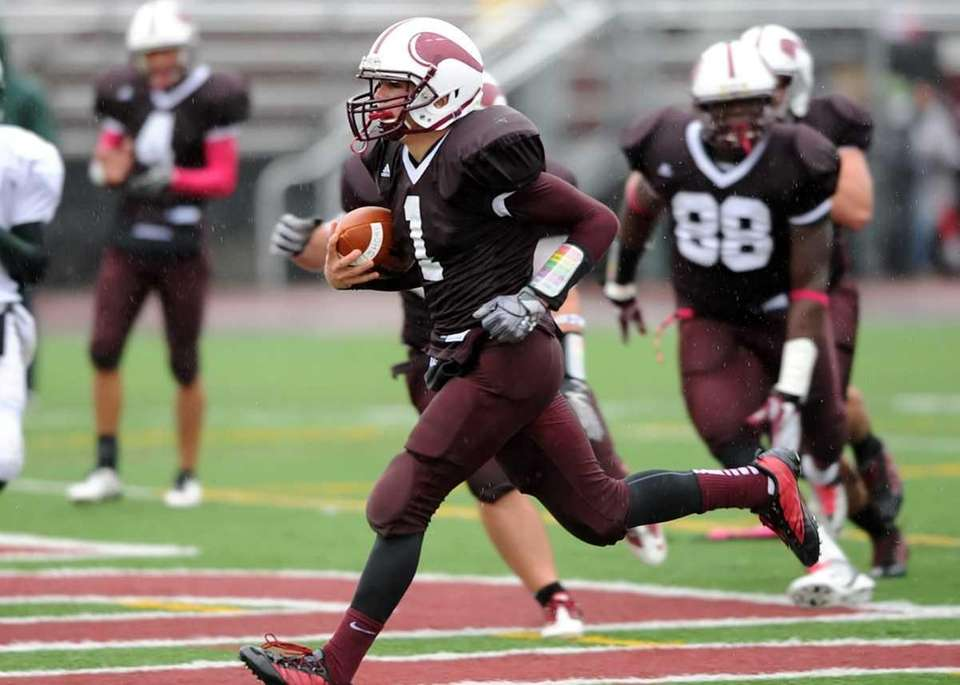 3. Football — Bay Shore beats Floyd (Oct.