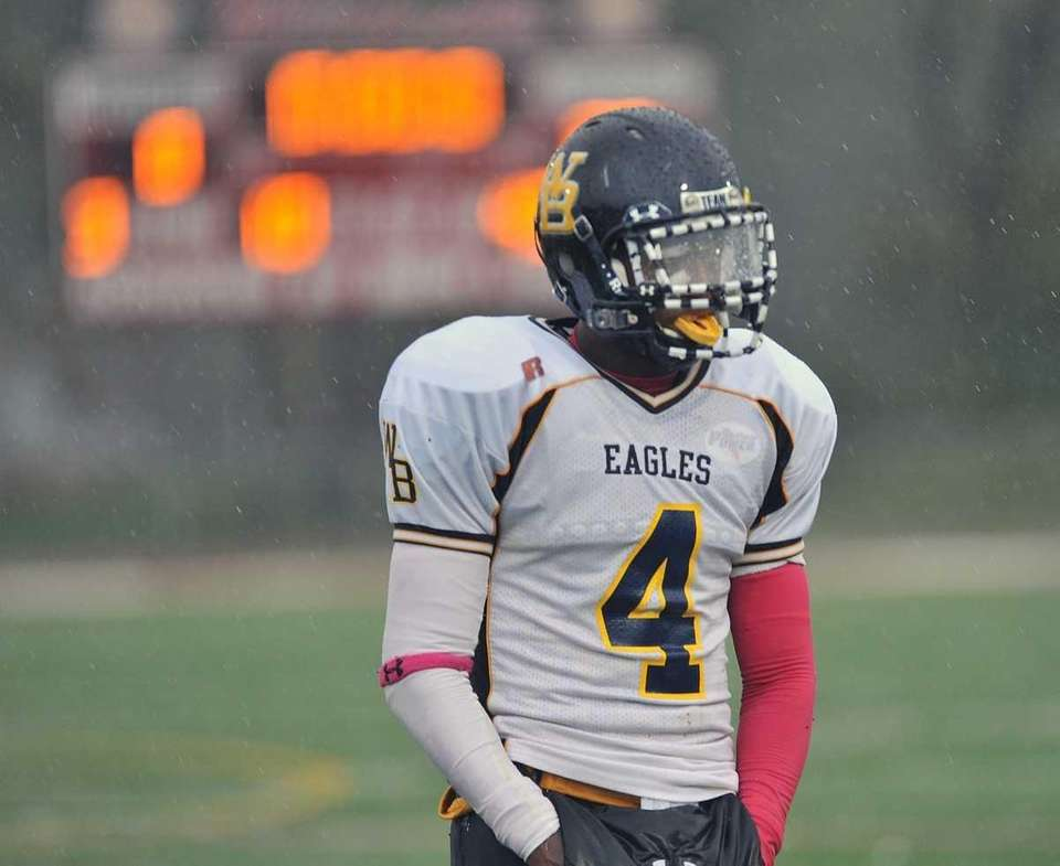 West Babylon's Michael Richardson on the field during