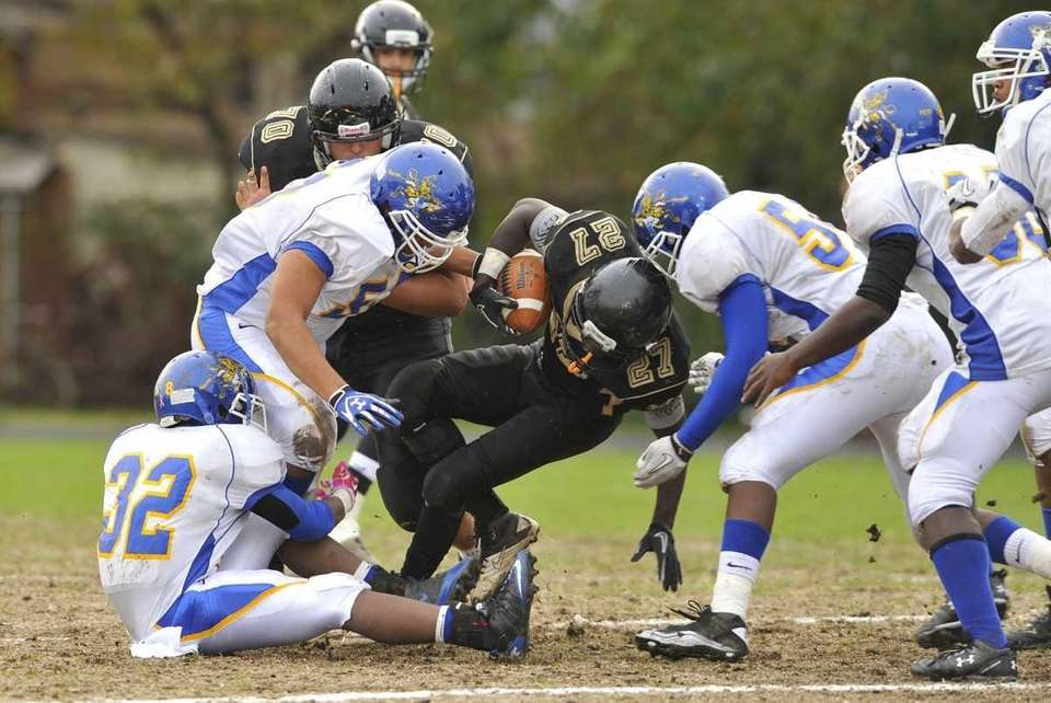 Justin Boatwright of West Hempstead has nowhere to