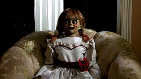 "The star gets all dolled up in ""Annabelle"