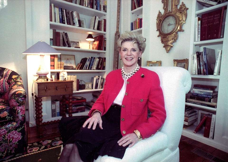 Writer Judith Krantz, whose million-selling novels such as