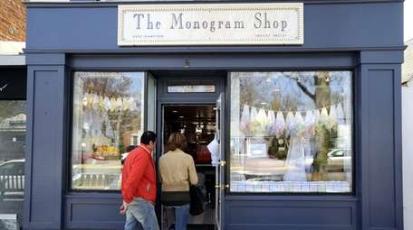The Monogram Shop located at 7 Newtown Lane