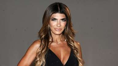 Teresa Giudice during the New York Summer Fashion
