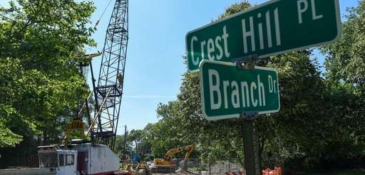 Branch Drive in Village of the Branch has