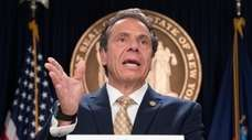 Gov. Andrew Cuomo, shown on June 17, said