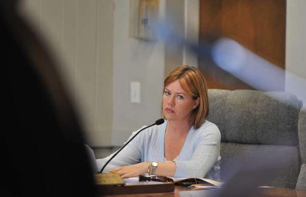 Islip Councilwoman Trish Bergin Weichbrodt during Town Supervisor