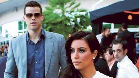 An undated photo of Kim Kardashian and Kris