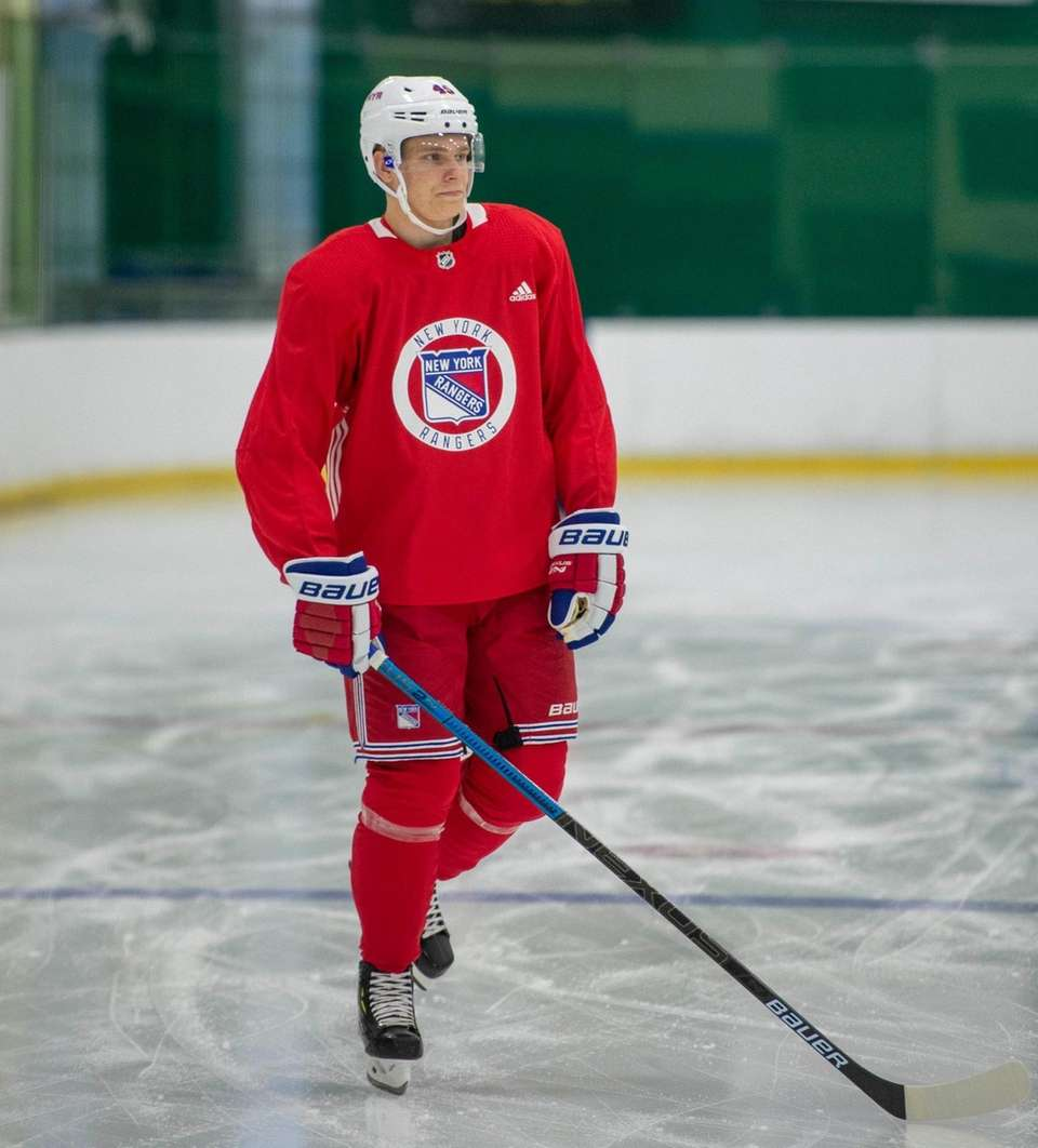 New York Rangers #45 Kaapo Kakko. New York