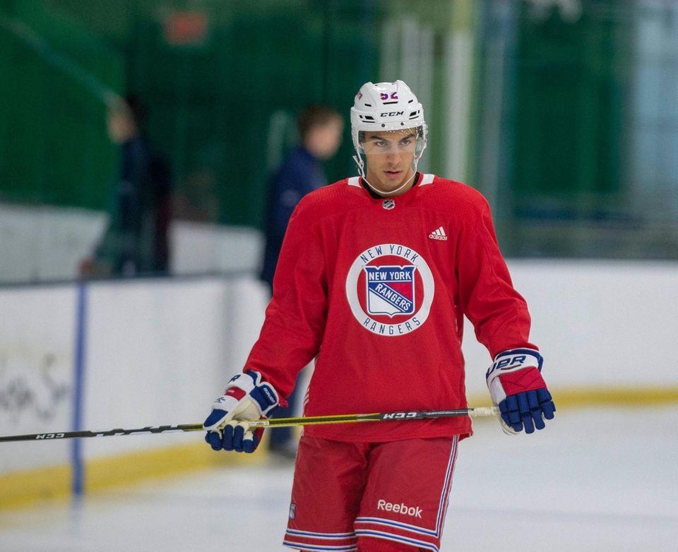 New York Rangers #52 Eric Ciccolini. New York