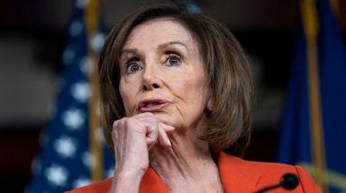 House Speaker Nancy Pelosi calls President Trump's plan