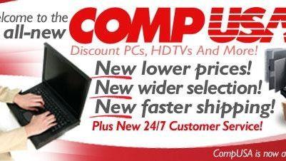 CompUSA, a Systemax brand