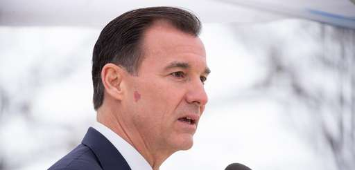 Rep. Tom Suozzi, seen in Great Neck on