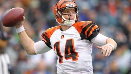 Quarterback Andy Dalton #14 of the Cincinnati Bengals.