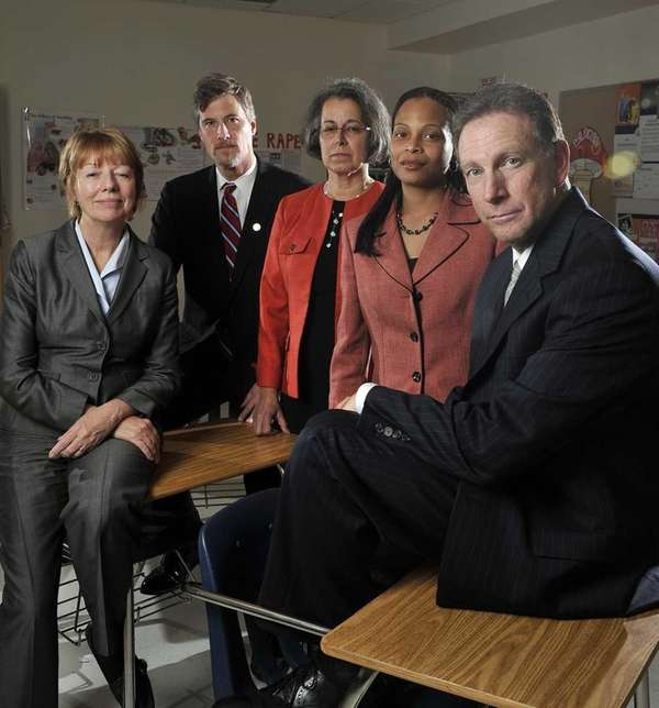 Principals gather at Wheatley School in Old Westbury,