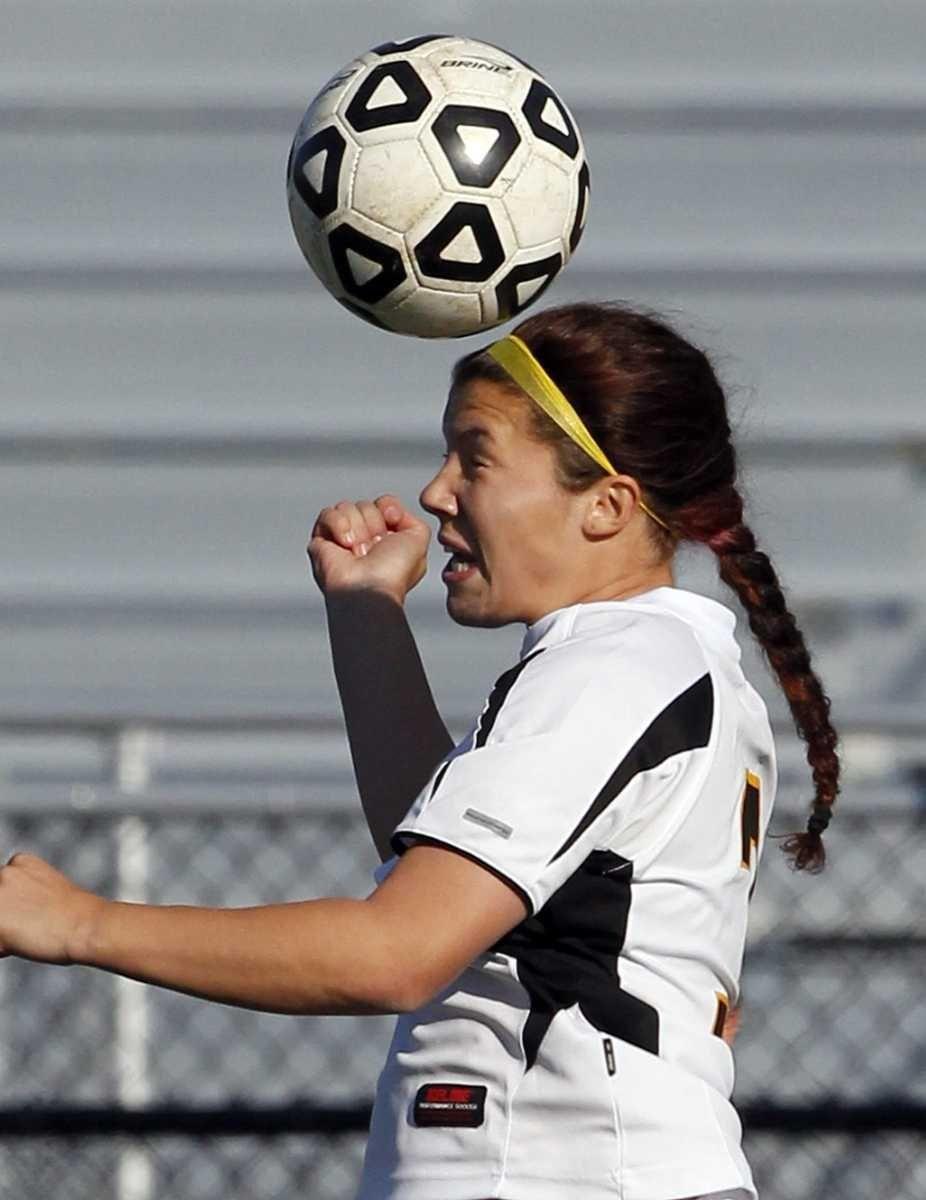 Sachem North midfielder Stephanie Morini (3) with the