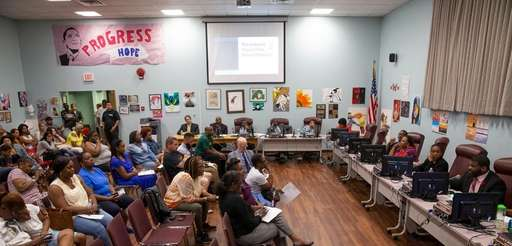 The Wyandanch school board approved a $69 million