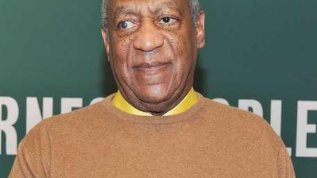 Comedian Bill Cosby promotes his new book