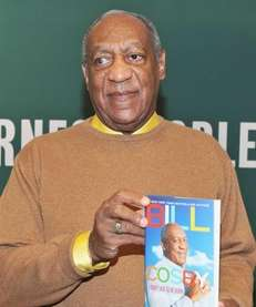 "Comedian Bill Cosby promotes his new book ""I"