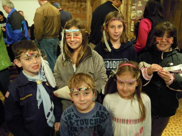 The Huntington Historical Society's Native American Day, seen