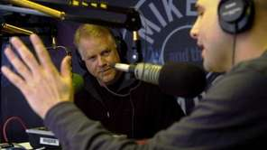 WFAN morning radio hosts Boomer Esiason, left, and