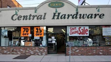Central Hardware opened in Valley Stream in 1939.