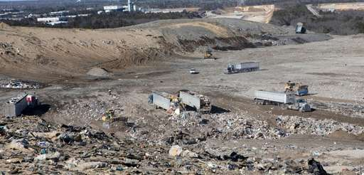 Brookhaven Town landfill , which covers 192 acres