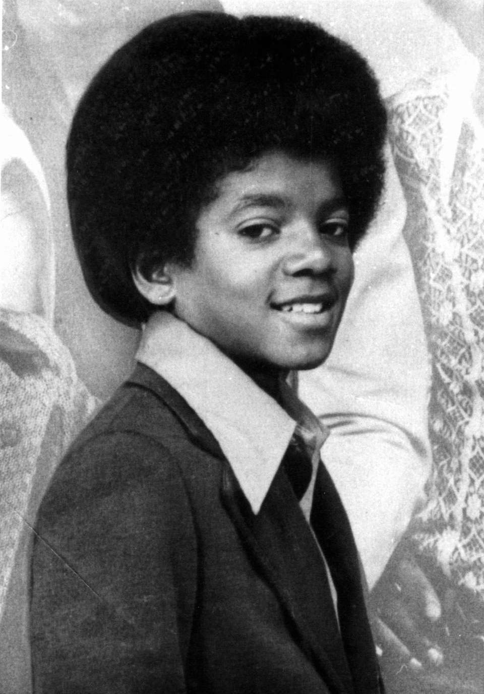Michael Jackson when he was about 13 years