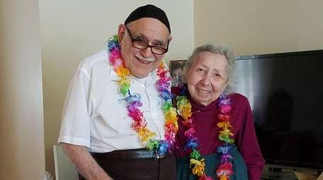Charles and Shirley Blaut of New Hyde Park
