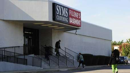 Syms and Filene's Basement stores in Westbury. (Nov.2,