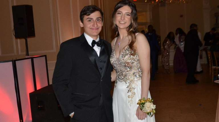 Anthony Marco and his younger sister, Olivia, attend