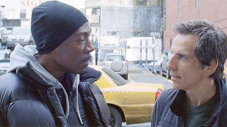 Eddie Murphy, left, and Ben Stiller in