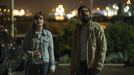 Ellie (Lily James), left, and Jack Malik (Himesh