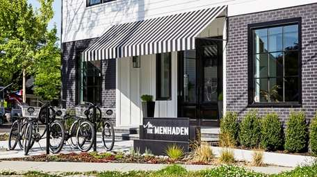 The Menhaden, a new 16-room boutique in the