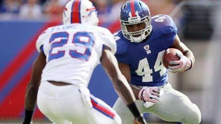 Ahmad Bradshaw #44 of the New York Giants