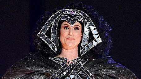 Tony-winning actress Stephanie J. Block performs onstage during