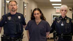 NYPD Officer Valerie Cincinelli in a Mineola courthouse