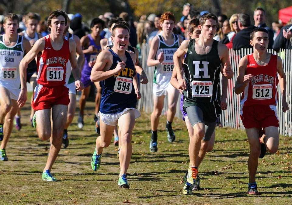 BOYS CROSS COUNTRY SECOND TEAM Zachary Cammer (Whitman,