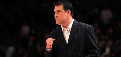 Steve Lavin of the St. John's Red Storm