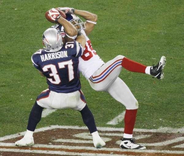 Rodney Harrison had the perfect vantage point for