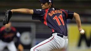 Japan starter Yu Darvish pitches against South Korea
