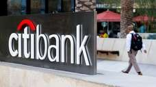 Citibank, owned by Citigroup, in Los Angeles on