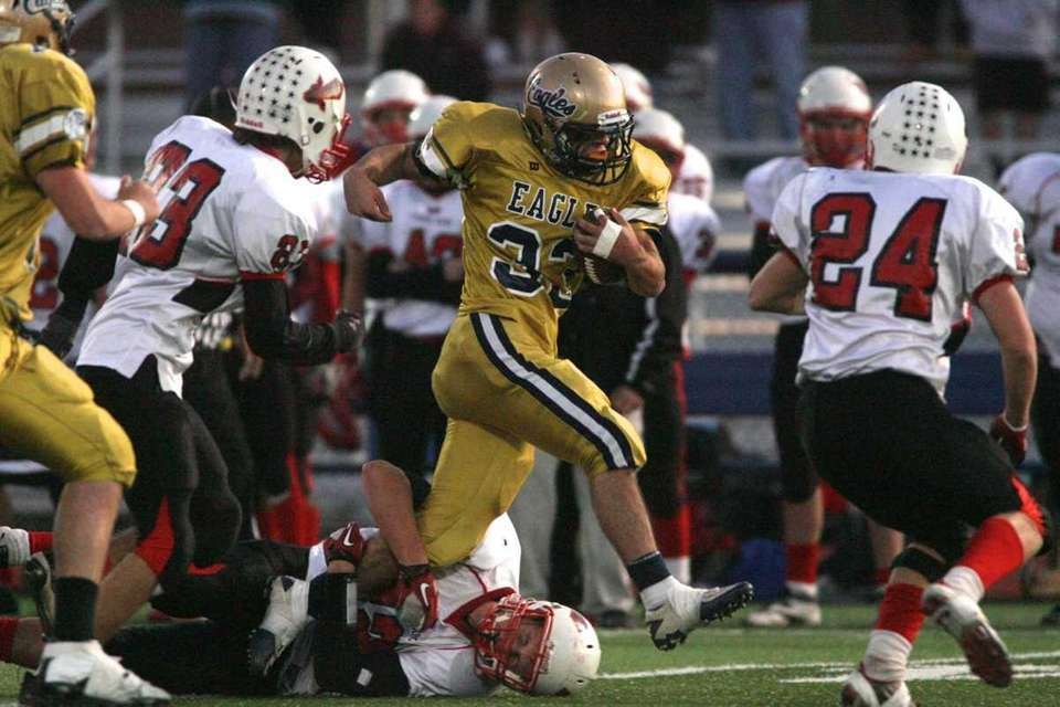 Bethpage HS's #33 Joseph Schultheis can't be stopped