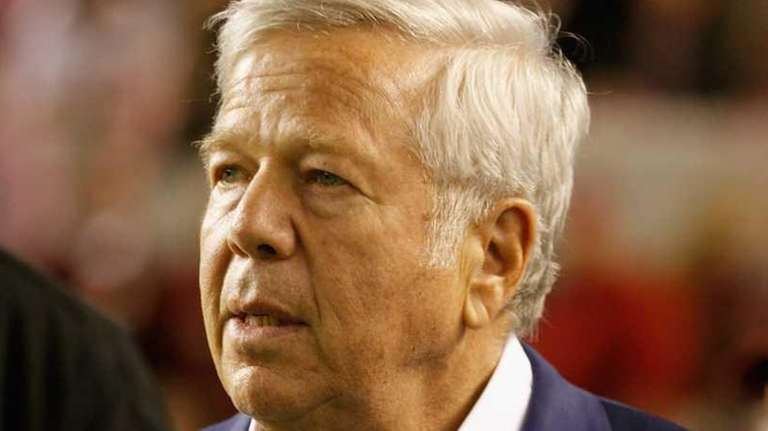 Robert Kraft, owner of the New England Patriots
