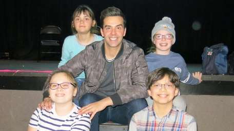 Actor and magician Michael Carbonaro at The Paramount