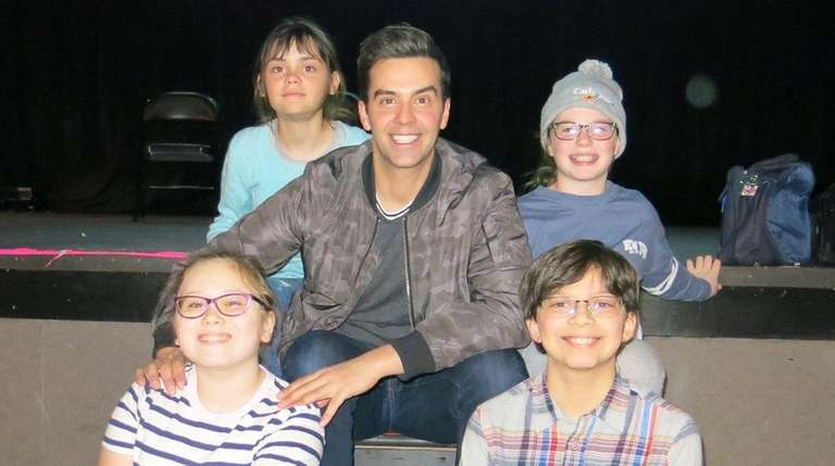 Michael Carbonaro, magician and performer, talks with LI kids