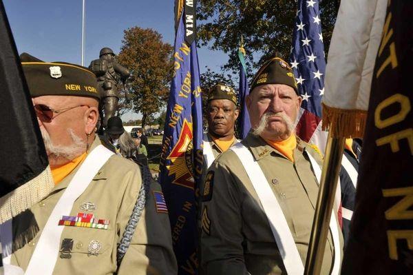 A Veterans Day Service and Vietnam Veterans Certificate