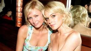 Paris Hilton and Lindsay Lohan, pictured in 2005.