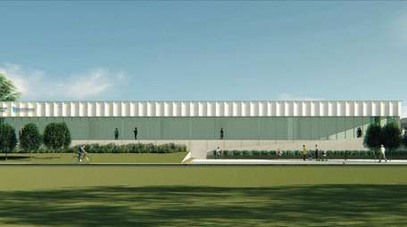 A rendering of a medical arts center proposed