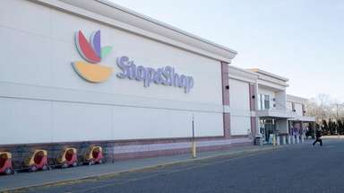 A Stop & Shop supermarket in Riverhead, seen