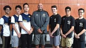 Members of the Newsday All-Long Island boys badminton